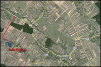 Localizare Balta Fitofagu